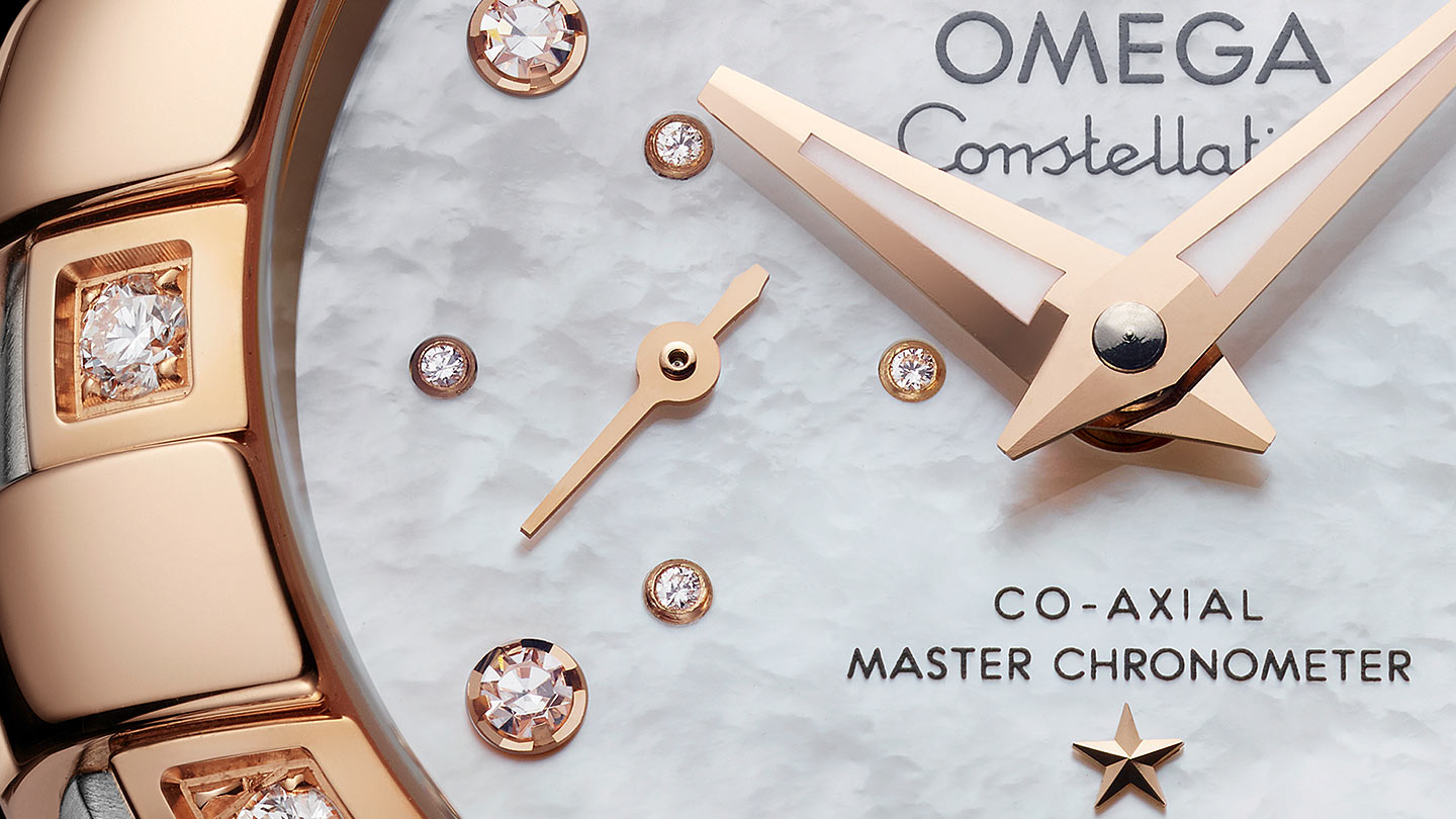 Constellation コンステレーション Constellation Omega Co‑Axial Master CHRONOMETER Small Seconds 27 mm - 127.25.27.20.55.001 - ビュー 1