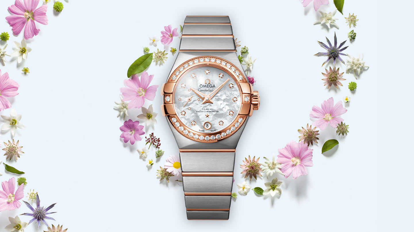 Constellation コンステレーション Constellation Omega Co‑Axial Master CHRONOMETER Small Seconds 27 mm - 127.25.27.20.55.001 - ビュー 3