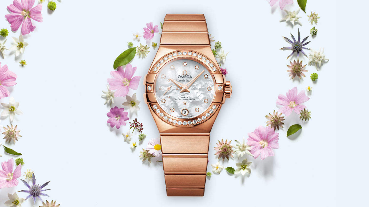 Constellation コンステレーション Constellation Omega Co‑Axial Master CHRONOMETER Small Seconds 27mm - 127.55.27.20.55.001 - ビュー 1