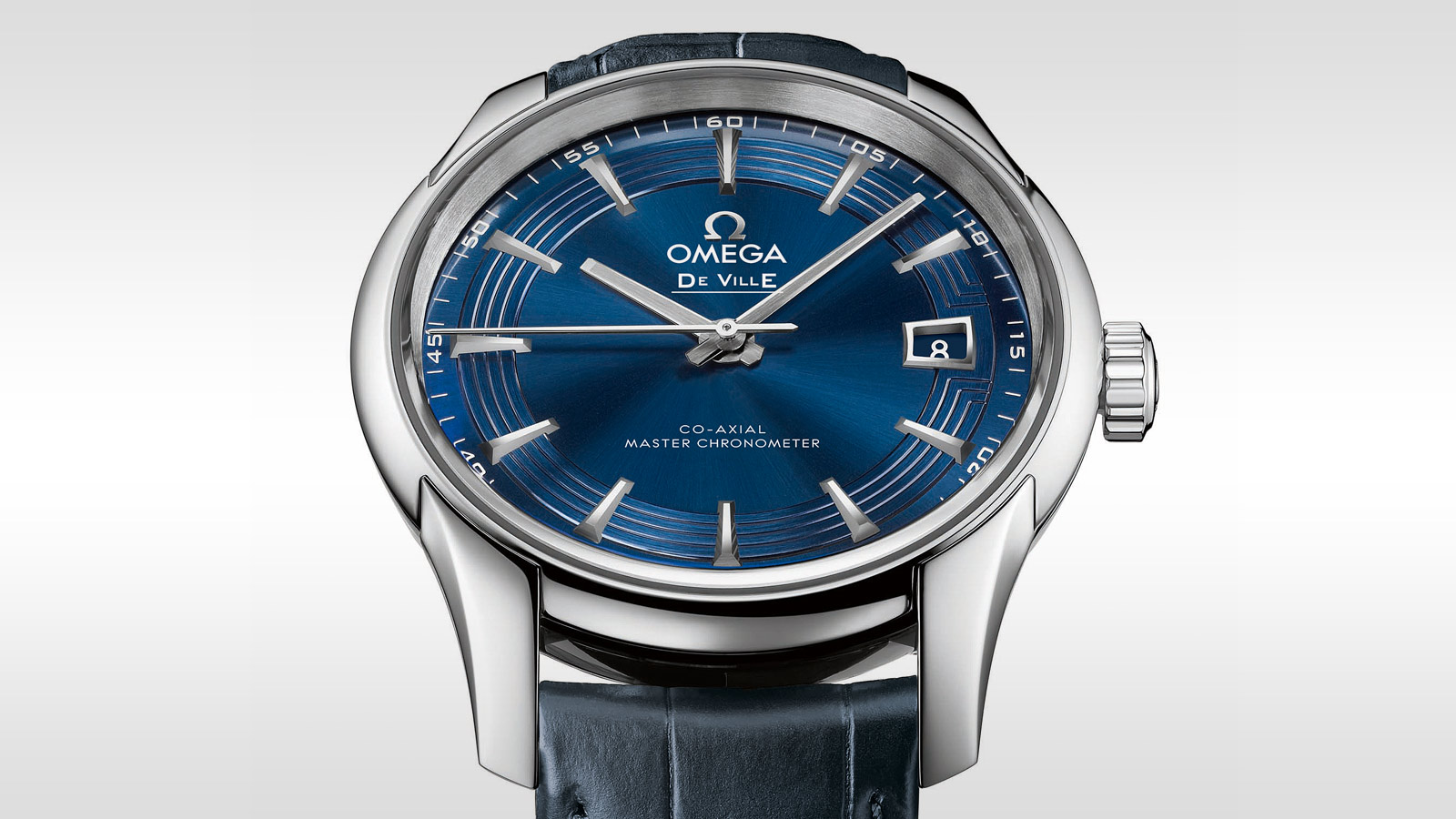 De Ville アワービジョン Hour Vision Omega Co‑Axial Master Chronometer 41 mm - 433.33.41.21.03.001 - ビュー 1