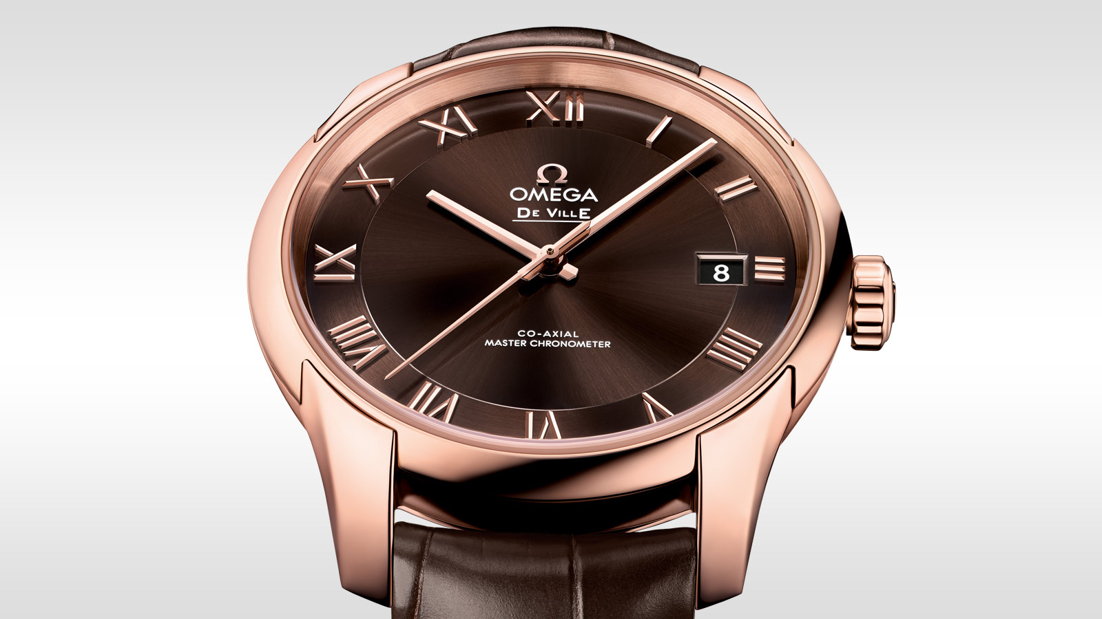 De Ville アワービジョン Hour Vision Omega Co‑Axial Master Chronometer 41 mm - 433.53.41.21.13.001 - ビュー 1