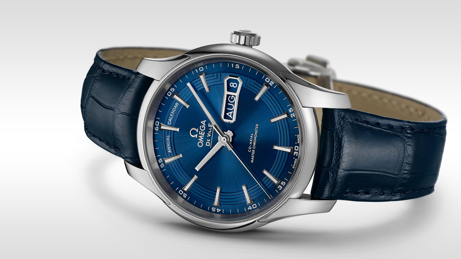 De Ville アワービジョン Hour Vision Omega Co‑Axial Master Chronometer Annual Calendar 41mm - 433.33.41.22.03.001 - ビュー 1