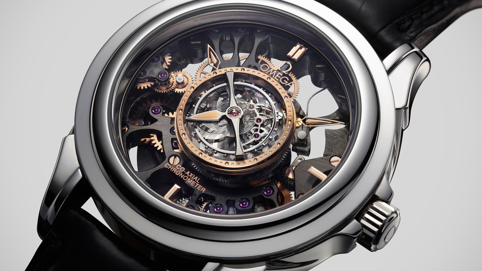 De Ville トゥールビヨン Tourbillon Co‑Axial Limited Edition 38.7 mm - 513.93.39.21.99.001 - ビュー 2