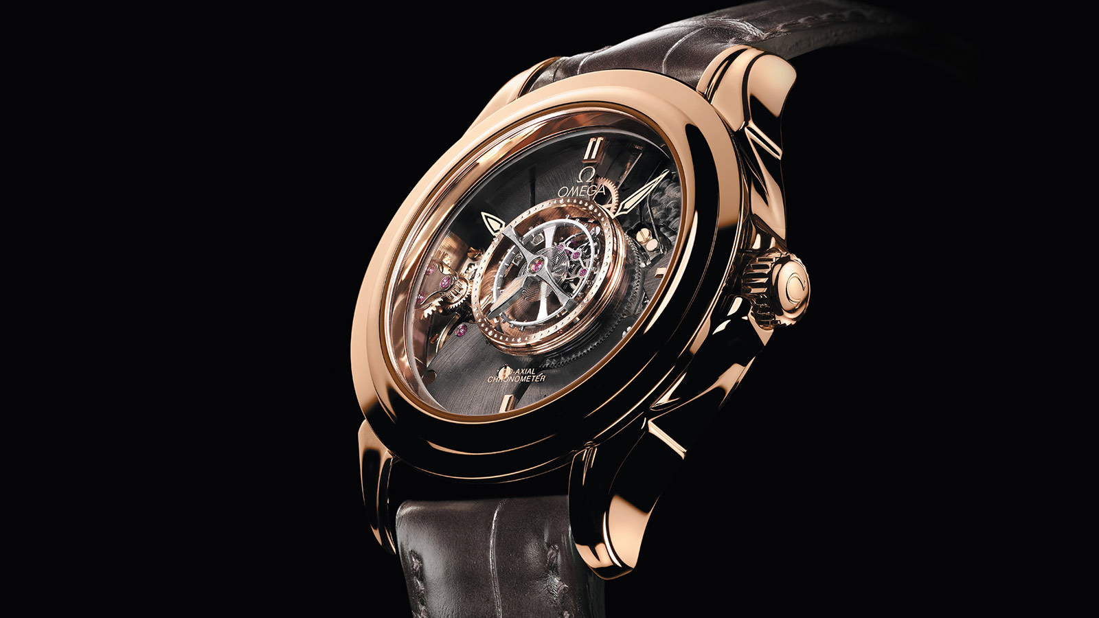 De Ville トゥールビヨン Tourbillon Co‑Axial Numbered Edition 38.7 mm - 513.53.39.21.99.001 - ビュー 1