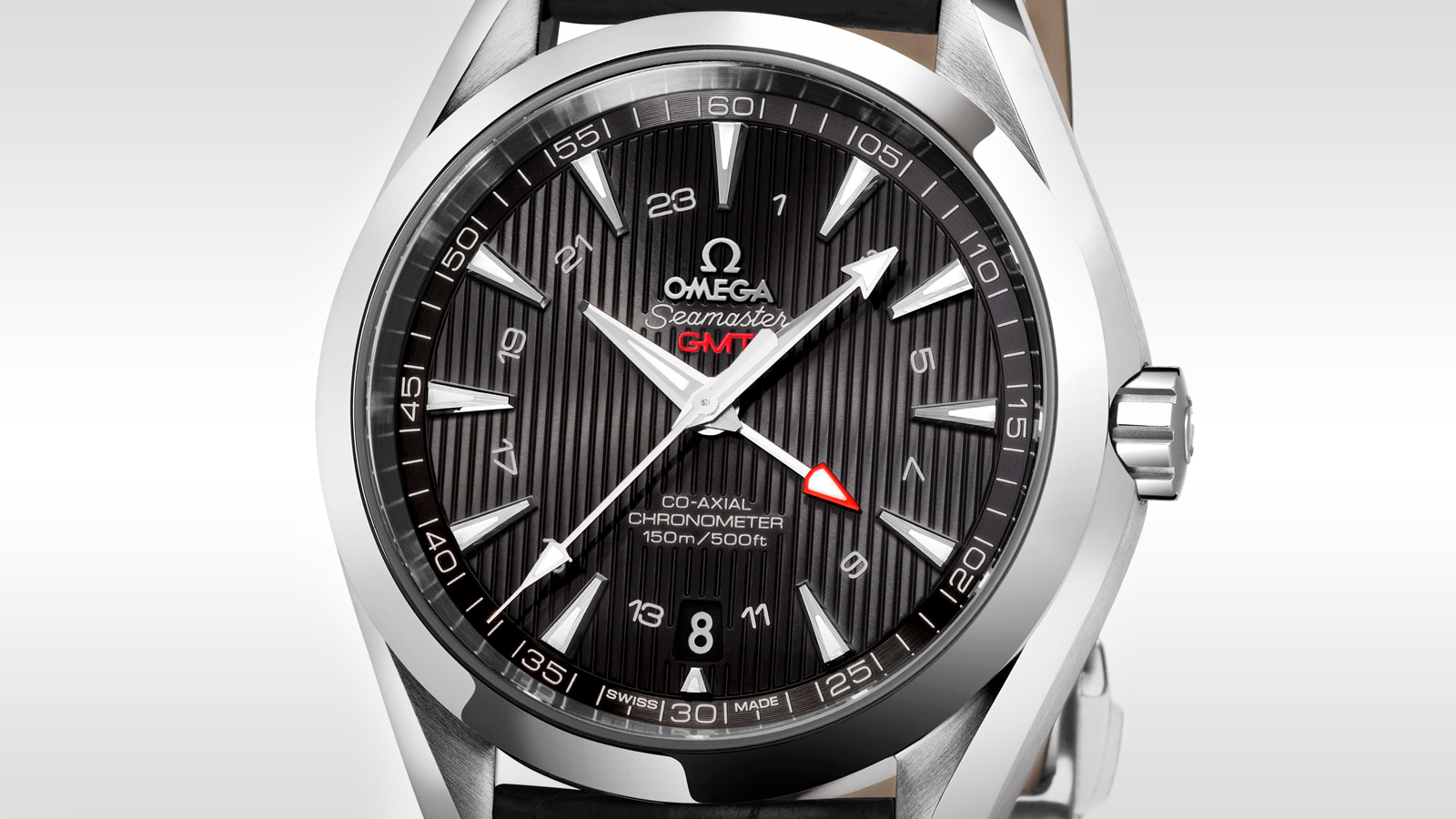 Seamaster アクアテラ 150M Aqua Terra 150M Omega Co‑Axial GMT 43 mm - 231.13.43.22.01.001 - ビュー 2