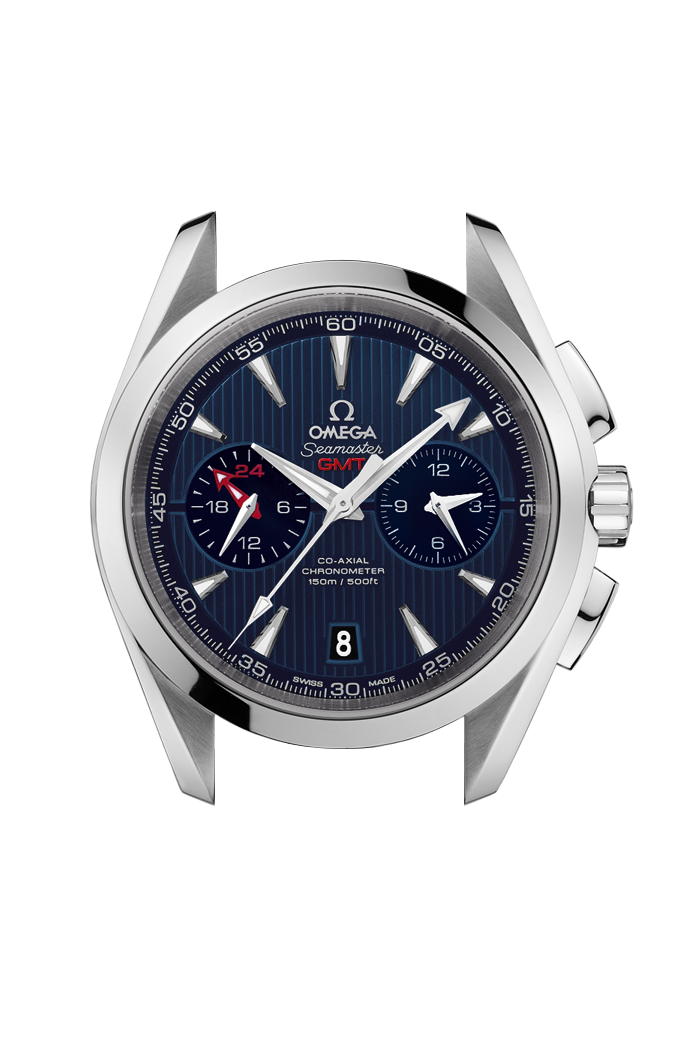 Aqua Terra 150M Omega Co-Axial Chronograph GMT 43 mm - 231.10.43.52.03.001