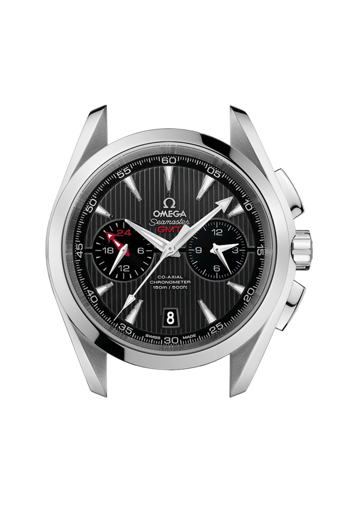 Aqua Terra 150M Omega Co-Axial Chronograph GMT 43 mm - 231.13.43.52.06.001