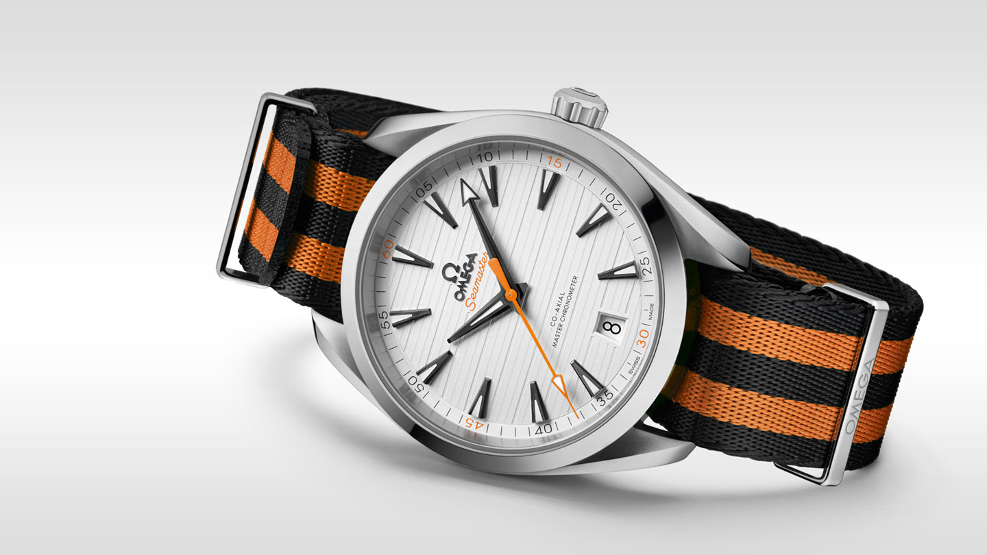 Seamaster アクアテラ 150M Aqua Terra 150M Omega Co‑Axial Master Chronometer 41 mm - 220.12.41.21.02.003 - ビュー 1