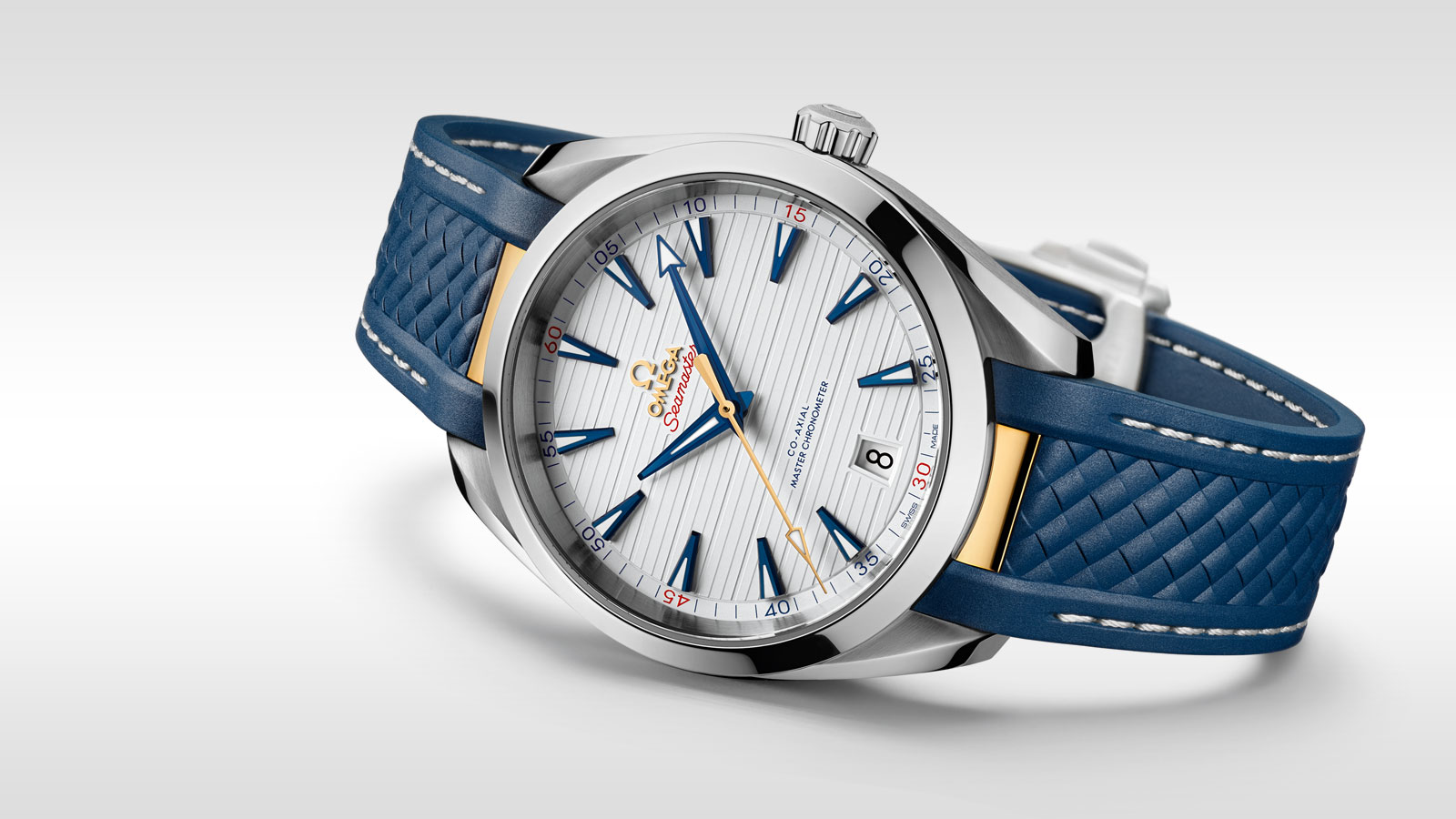 Seamaster アクアテラ 150M Aqua Terra 150M Omega Co‑Axial Master Chronometer 41 mm - 220.12.41.21.02.004 - ビュー 1