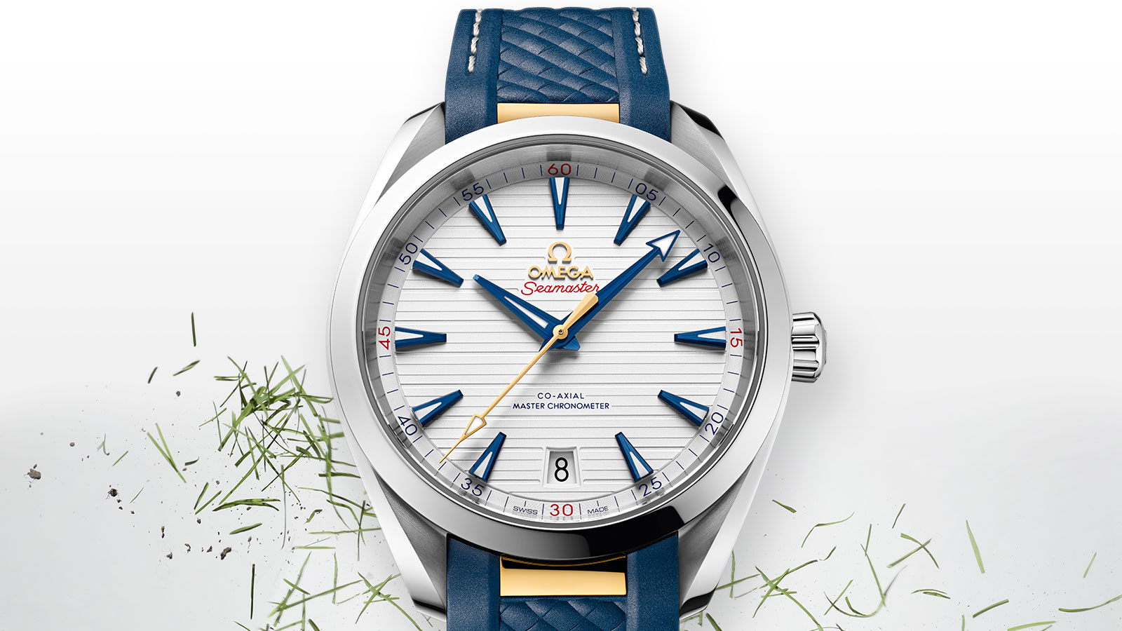 Seamaster アクアテラ 150M Aqua Terra 150M Omega Co‑Axial Master Chronometer 41 mm ウォッチ - 220.12.41.21.02.004