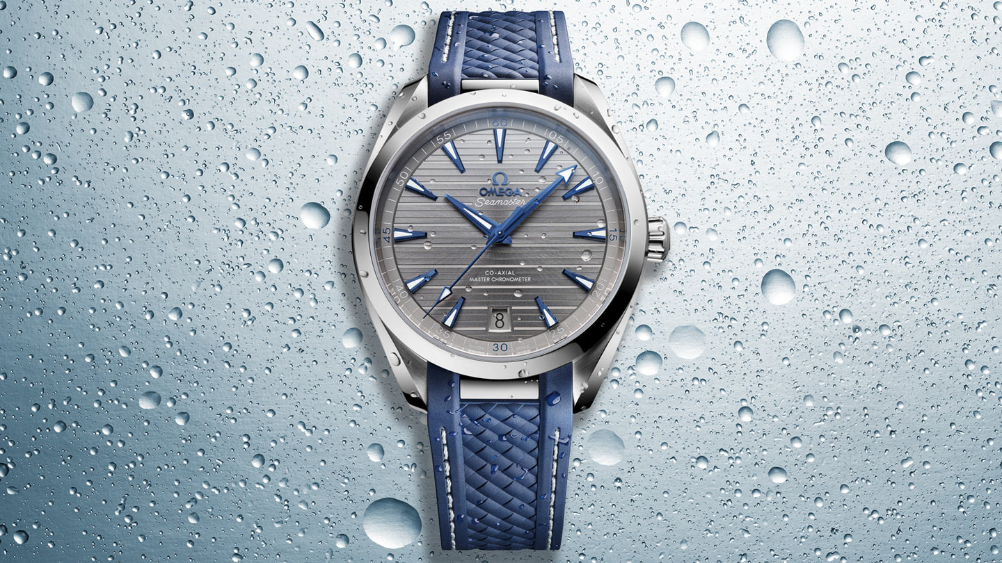 Seamaster アクアテラ 150M Aqua Terra 150M Omega Co‑Axial Master Chronometer 41 mm - 220.12.41.21.06.001 - ビュー 1