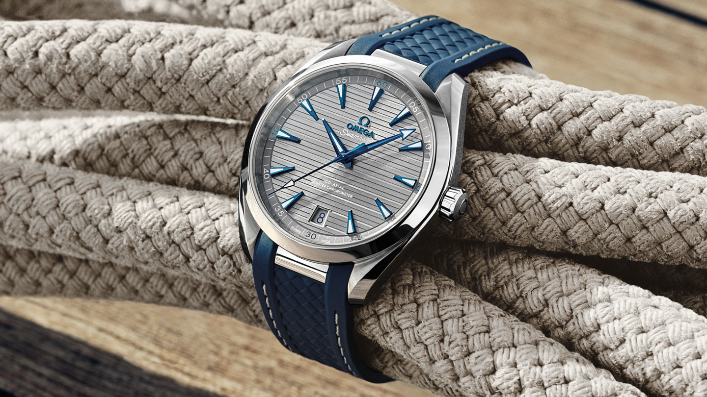 Seamaster アクアテラ 150M Aqua Terra 150M Omega Co‑Axial Master Chronometer 41 mm - 220.12.41.21.06.001 - ビュー 3