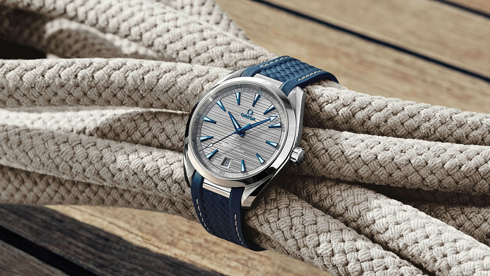 Seamaster アクアテラ 150M Aqua Terra 150M Omega Co‑Axial Master Chronometer 41 mm ウォッチ - 220.12.41.21.06.001