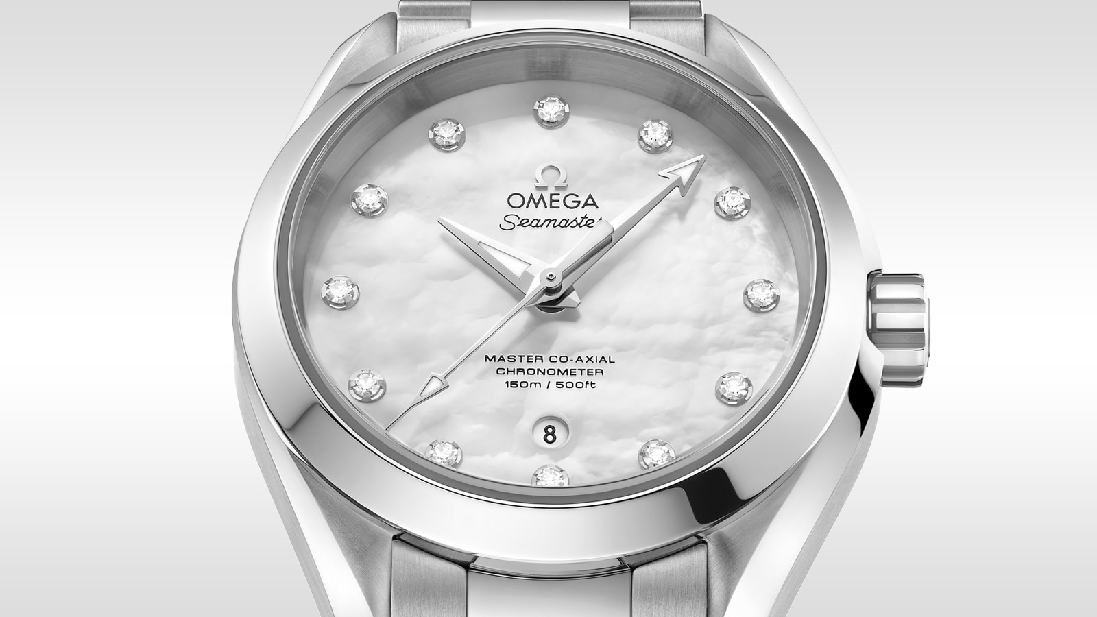 Seamaster アクアテラ 150M Aqua Terra 150M Omega Master Co‑Axial 34 mm - 231.10.34.20.55.002 - ビュー 1