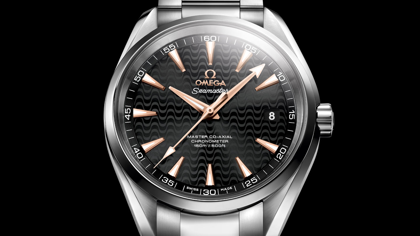 Seamaster アクアテラ 150M Aqua Terra 150M Omega Master Co‑Axial 41.5 mm - 231.10.42.21.01.006 - ビュー 1