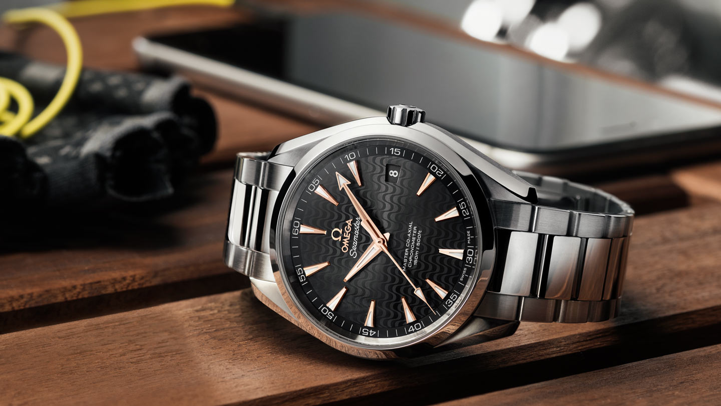 Seamaster アクアテラ 150M Aqua Terra 150M Omega Master Co‑Axial 41.5 mm - 231.10.42.21.01.006 - ビュー 2