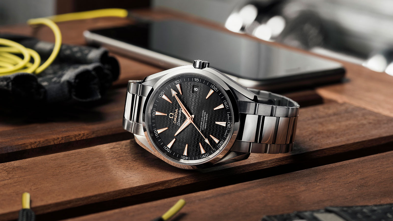 Seamaster アクアテラ 150M Aqua Terra 150M Omega Master Co‑Axial 41.5 mm ウォッチ - 231.10.42.21.01.006