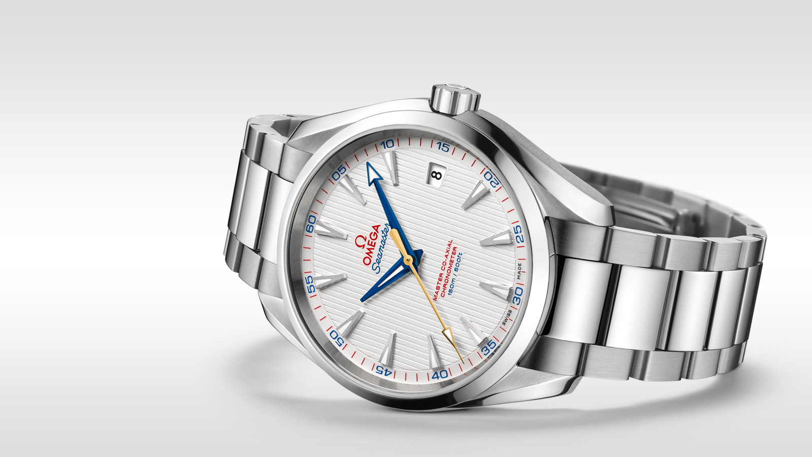 Seamaster アクアテラ 150M Aqua Terra 150M Omega Master Co‑Axial 41.5 mm - 231.10.42.21.02.004 - ビュー 1