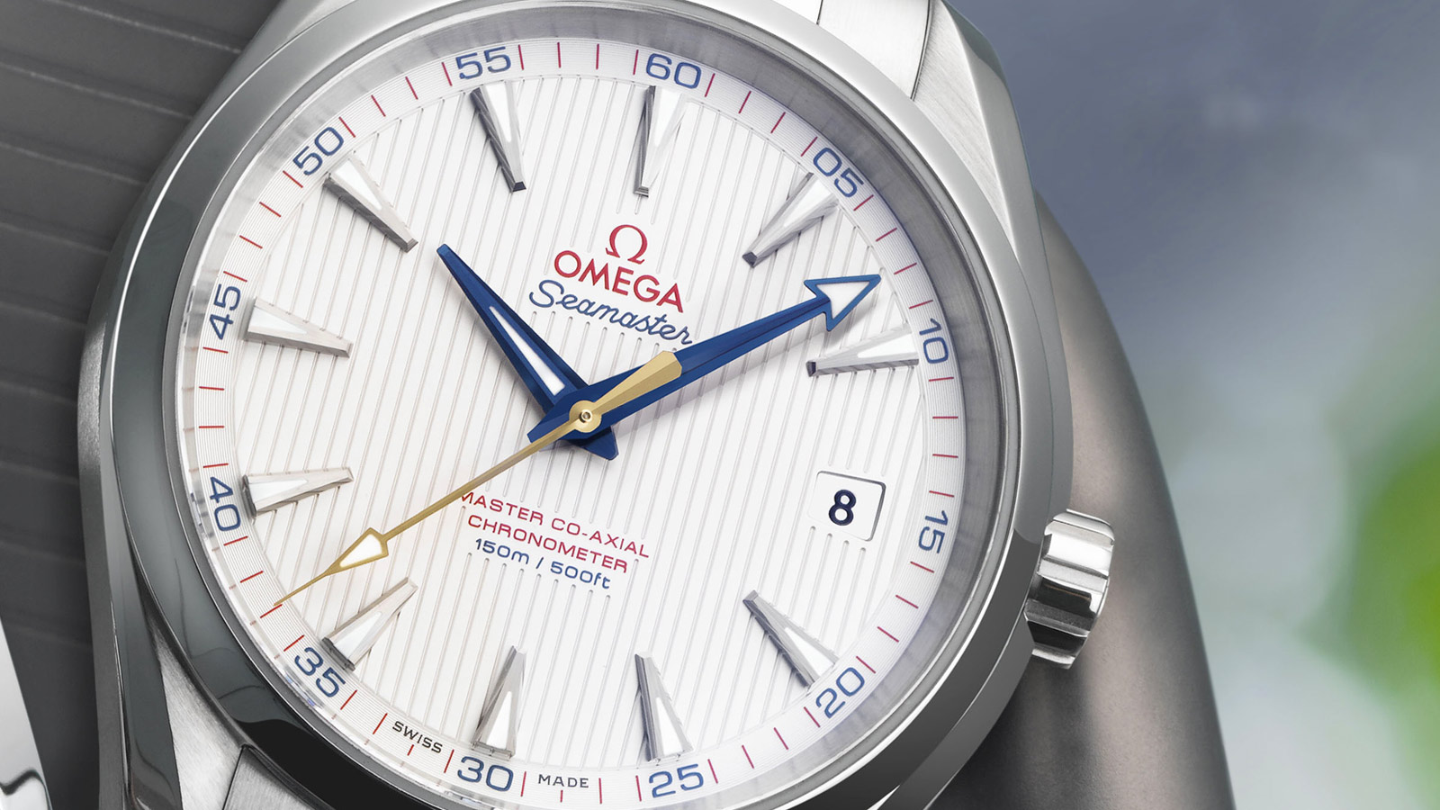 Seamaster アクアテラ 150M Aqua Terra 150M Omega Master Co‑Axial 41.5 mm - 231.10.42.21.02.004 - ビュー 2