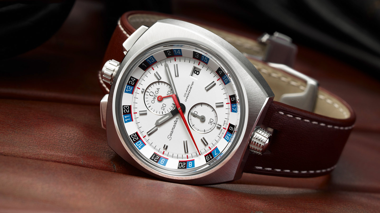 Seamaster ブルヘッド Bullhead Co‑Axial Chronograph 43 x 43 mm - 225.12.43.50.04.001 - ビュー 3
