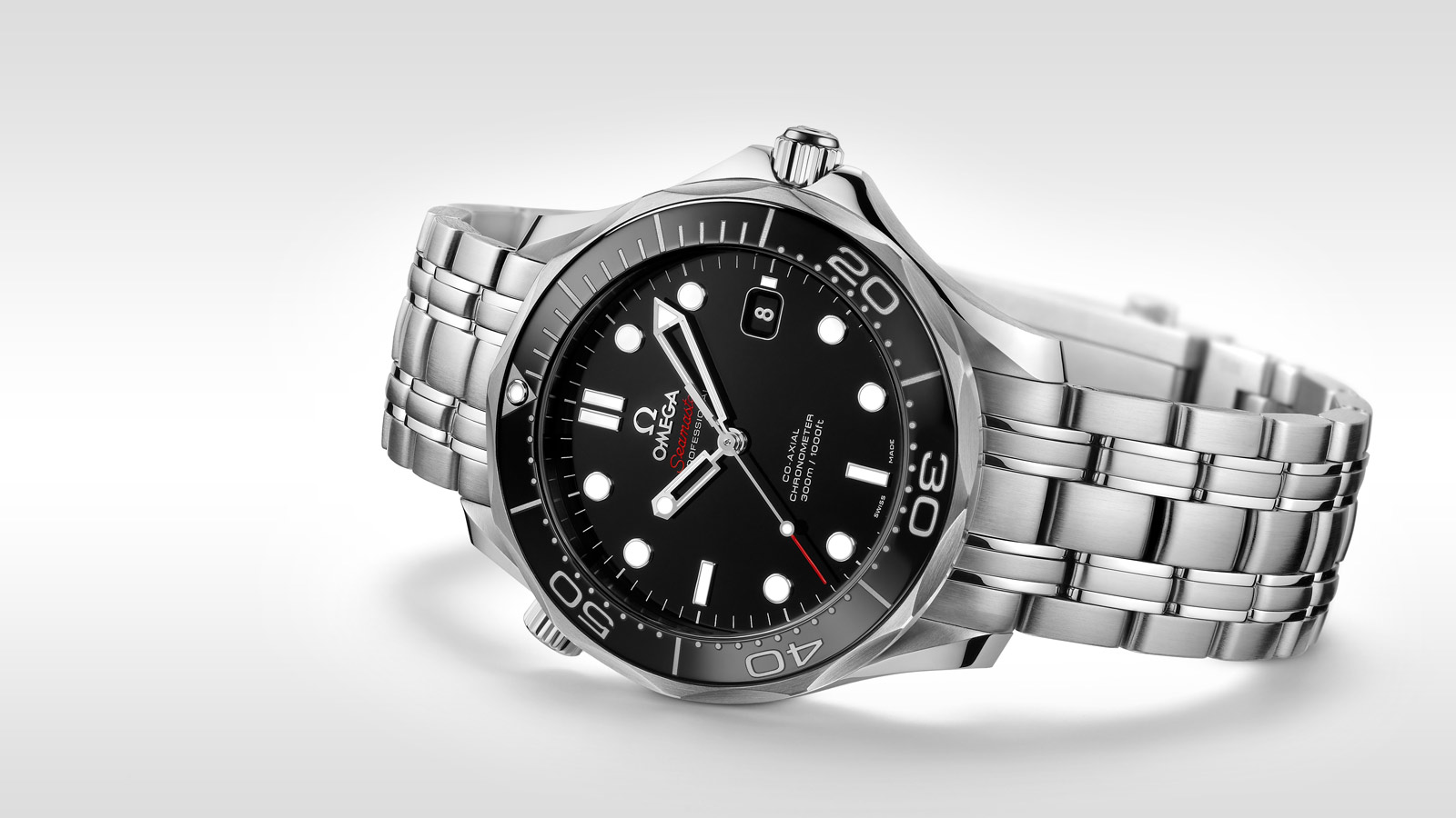 Seamaster ダイバー 300M Diver 300M Co‑Axial 41 mm - 212.30.41.20.01.003 - ビュー 1