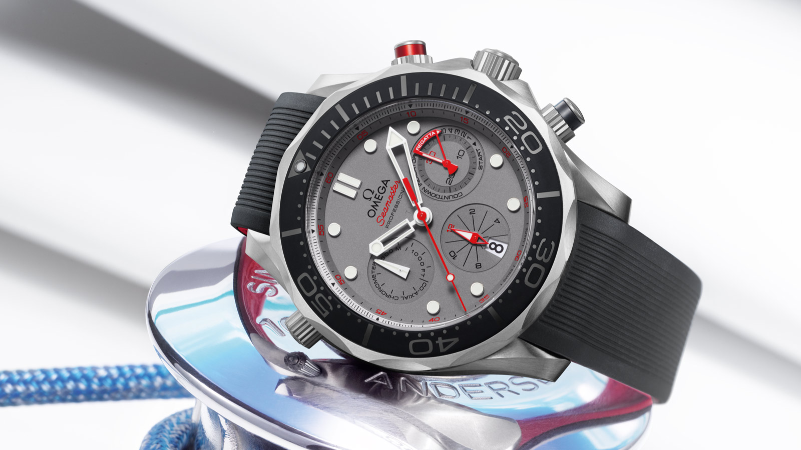 Seamaster ダイバー 300M Diver 300M Co‑Axial Chronograph 44 mm - 212.92.44.50.99.001 - ビュー 1