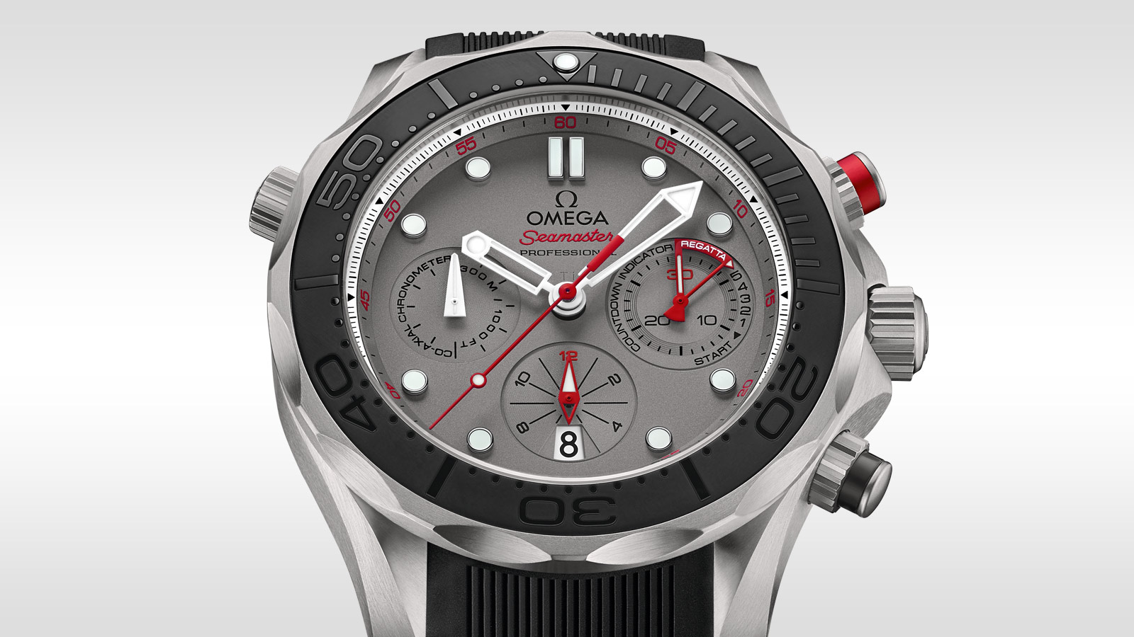 Seamaster ダイバー 300M Diver 300M Co‑Axial Chronograph 44 mm - 212.92.44.50.99.001 - ビュー 3