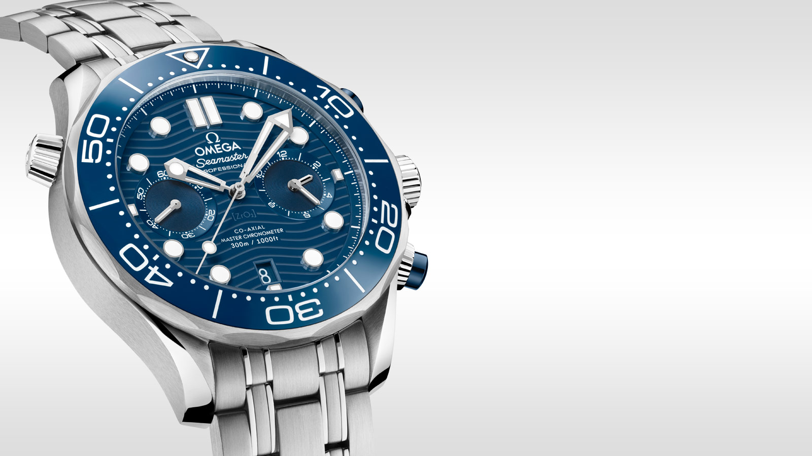 Seamaster ダイバー 300M Diver 300M Omega Co‑Axial Master Chronometer Chronograph 44 mm - 210.30.44.51.03.001 - ビュー 1