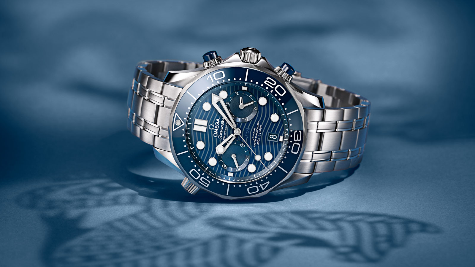 Seamaster ダイバー 300M Diver 300M Omega Co‑Axial Master Chronometer Chronograph 44 mm ウォッチ - 210.30.44.51.03.001