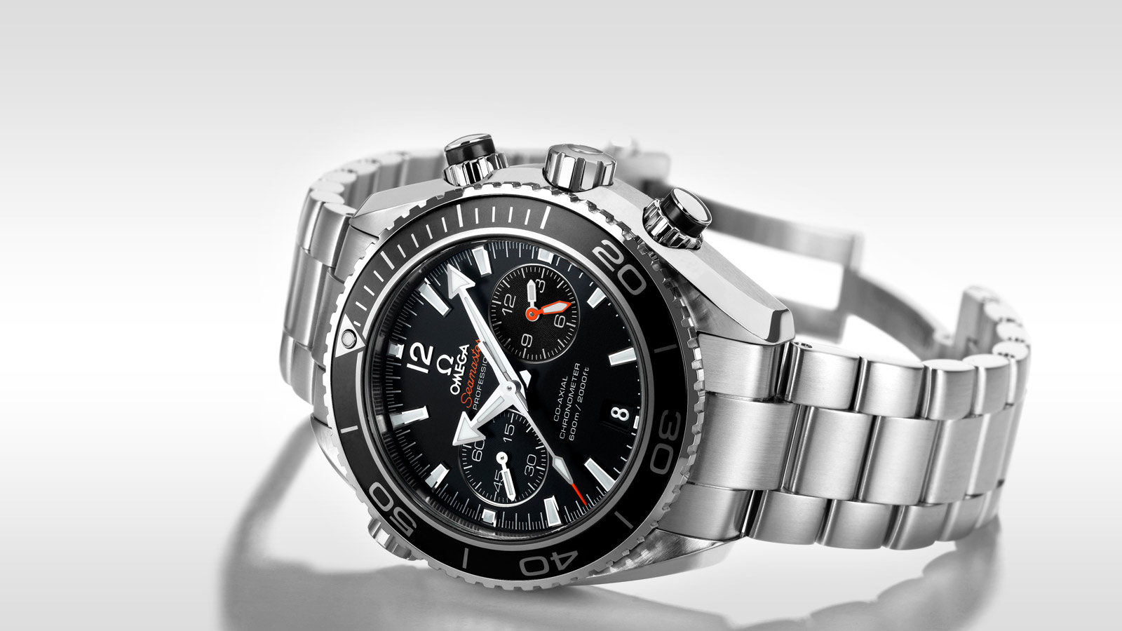 Seamaster プラネットオーシャン Planet Ocean 600M Omega Co‑Axial Chronograph 45.5 mm - 232.30.46.51.01.001 - ビュー 1
