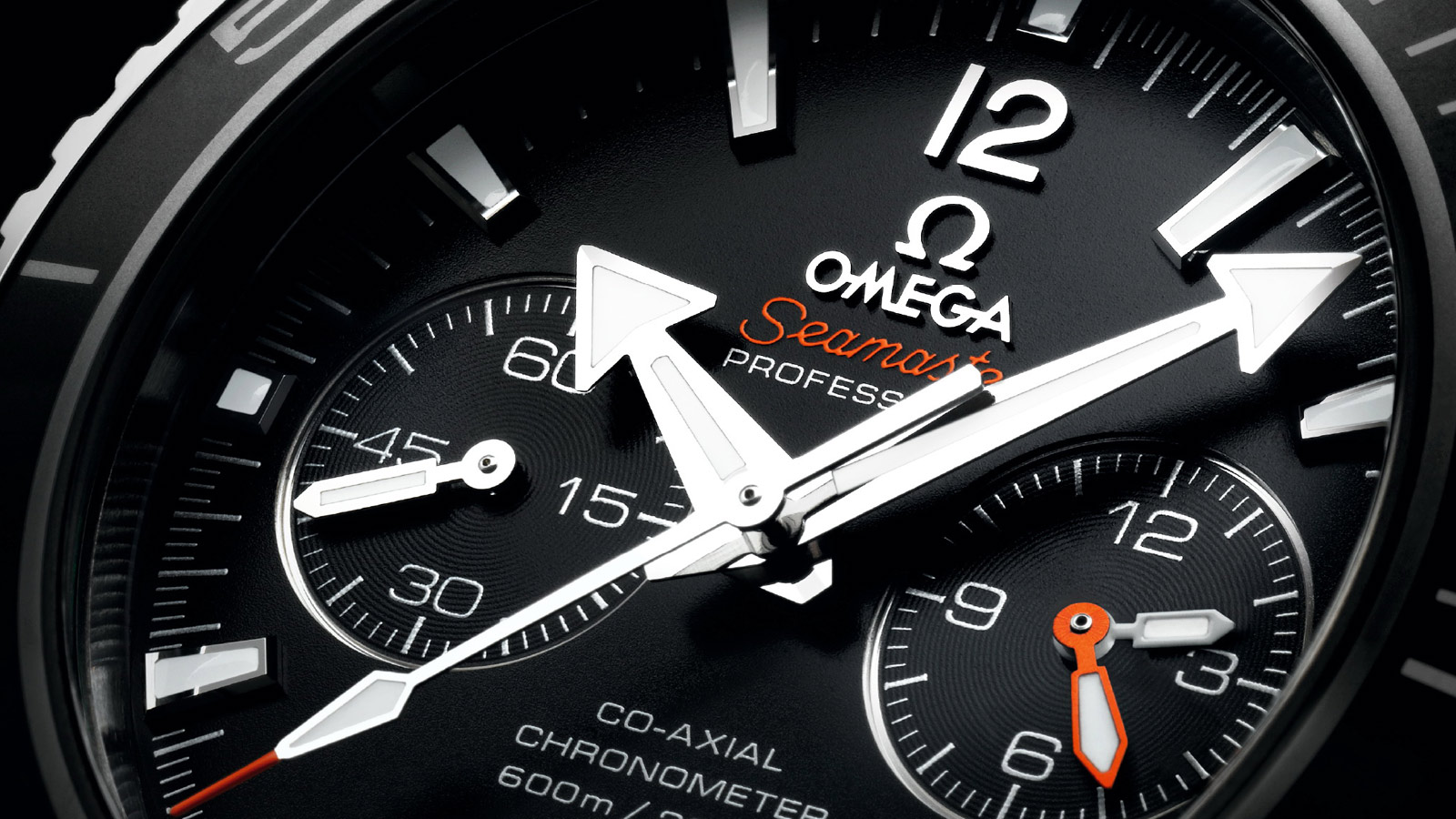 Seamaster プラネットオーシャン Planet Ocean 600M Omega Co‑Axial Chronograph 45.5 mm - 232.30.46.51.01.001 - ビュー 2