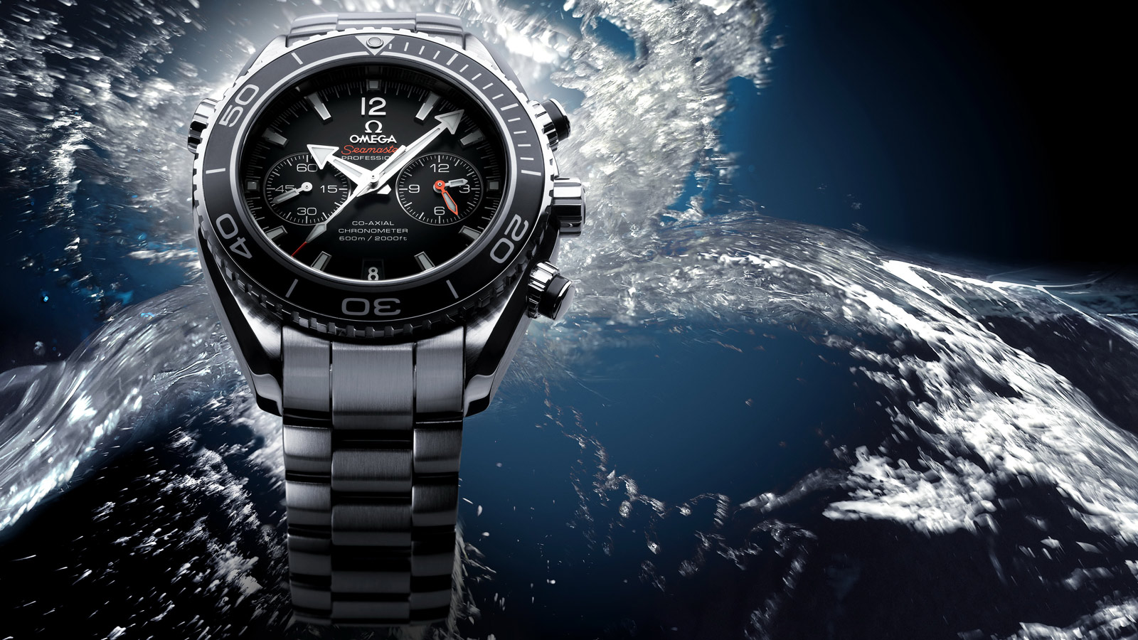 Seamaster プラネットオーシャン Planet Ocean 600M Omega Co‑Axial Chronograph 45.5 mm - 232.30.46.51.01.001 - ビュー 3