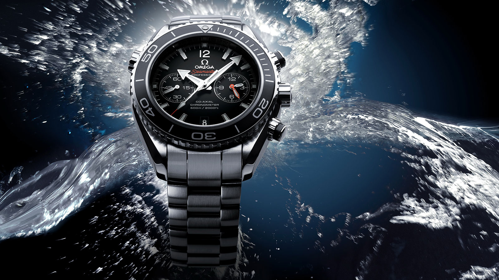 Seamaster プラネットオーシャン Planet Ocean 600M Omega Co‑Axial Chronograph 45.5 mm ウォッチ - 232.30.46.51.01.001