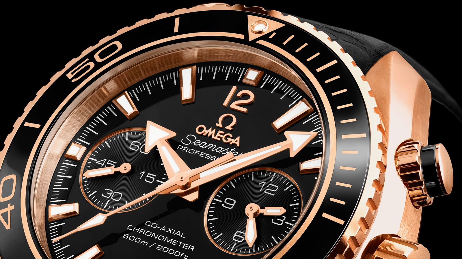 Seamaster プラネットオーシャン Planet Ocean 600M Omega Co‑Axial Chronograph 45.5 mm - 232.63.46.51.01.001 - ビュー 1
