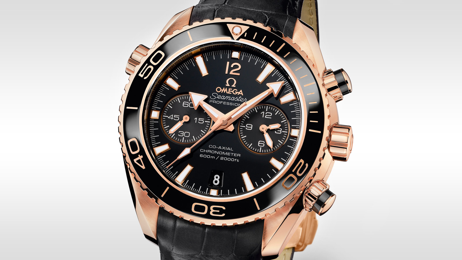 Seamaster プラネットオーシャン Planet Ocean 600M Omega Co‑Axial Chronograph 45.5 mm - 232.63.46.51.01.001 - ビュー 2