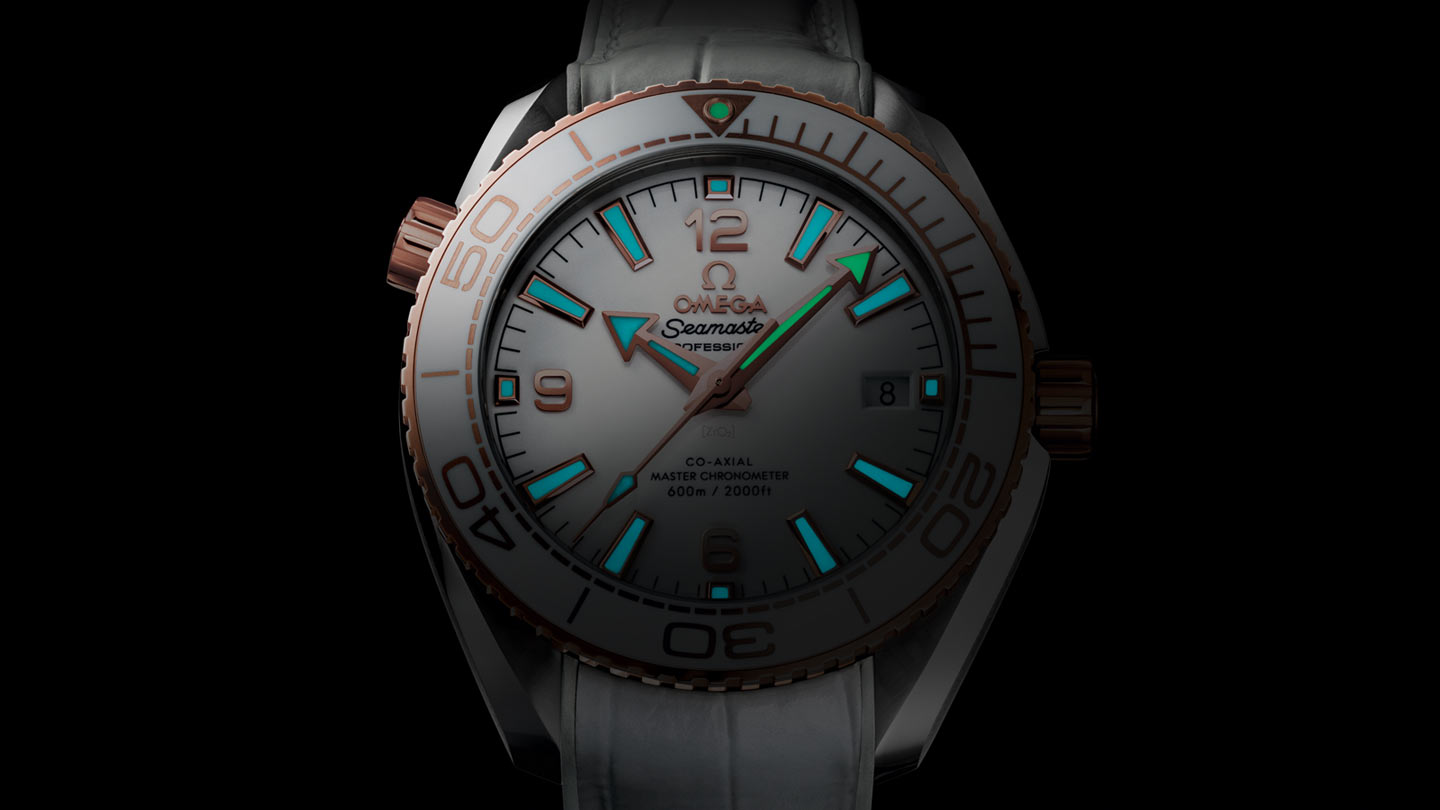 Seamaster プラネットオーシャン Planet Ocean 600M Omega Co‑Axial Master Chronometer 39.5 mm - 215.23.40.20.04.001 - ビュー 1
