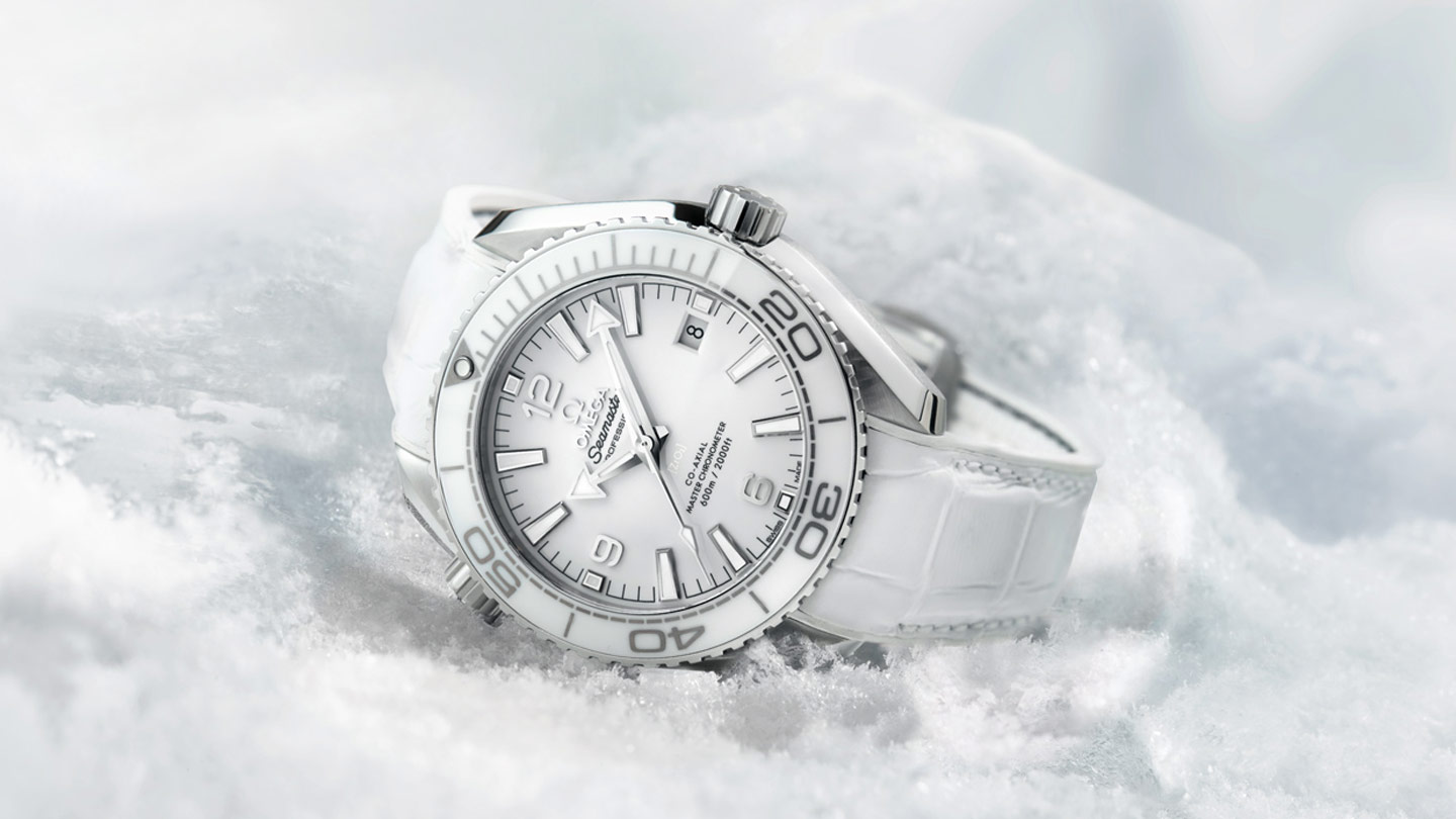 Seamaster プラネットオーシャン Planet Ocean 600M Omega Co‑Axial Master Chronometer 39.5 mm - 215.33.40.20.04.001 - ビュー 1