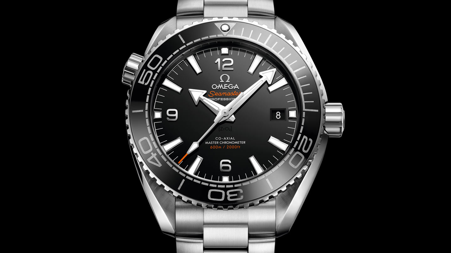 Seamaster プラネットオーシャン Planet Ocean 600M Omega Co‑Axial Master Chronometer 43.5 mm - 215.30.44.21.01.001 - ビュー 1