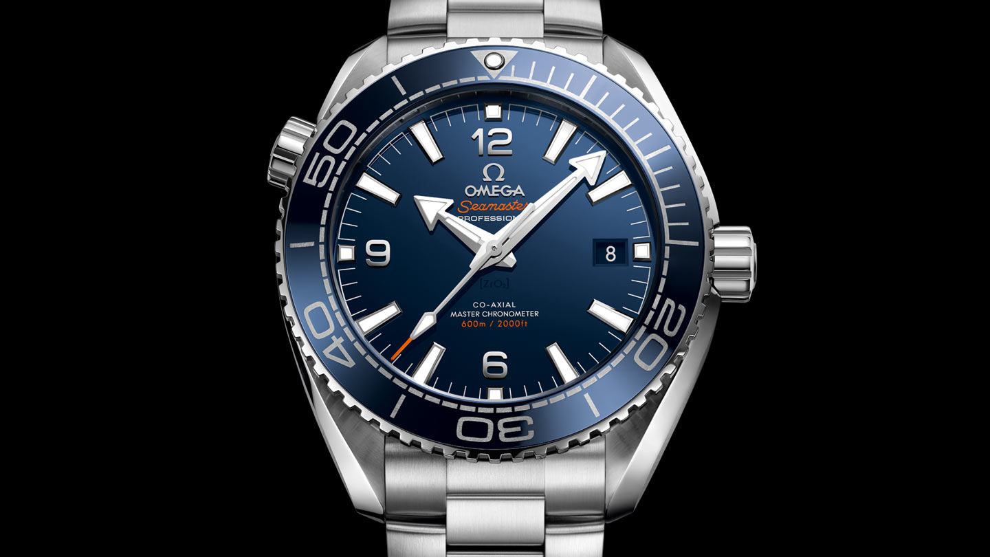 Seamaster プラネットオーシャン Planet Ocean 600M Omega Co‑Axial Master Chronometer 43.5 mm - 215.30.44.21.03.001 - ビュー 1