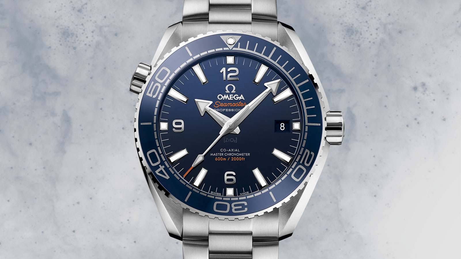 Seamaster プラネットオーシャン Planet Ocean 600M Omega Co‑Axial Master Chronometer 43.5 mm ウォッチ - 215.30.44.21.03.001