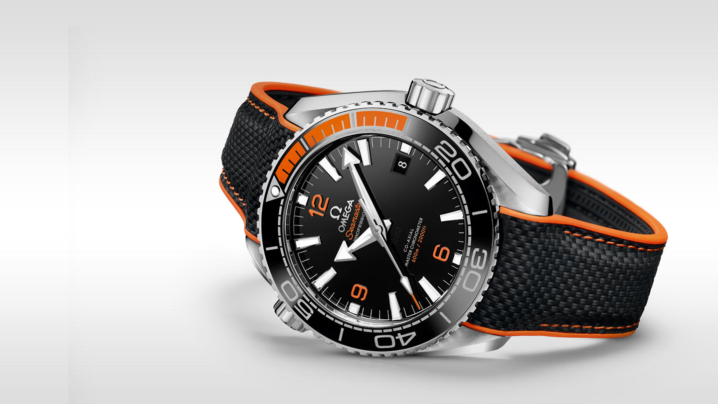 Seamaster プラネットオーシャン Planet Ocean 600M Omega Co‑Axial Master Chronometer 43.5 mm - 215.32.44.21.01.001 - ビュー 1