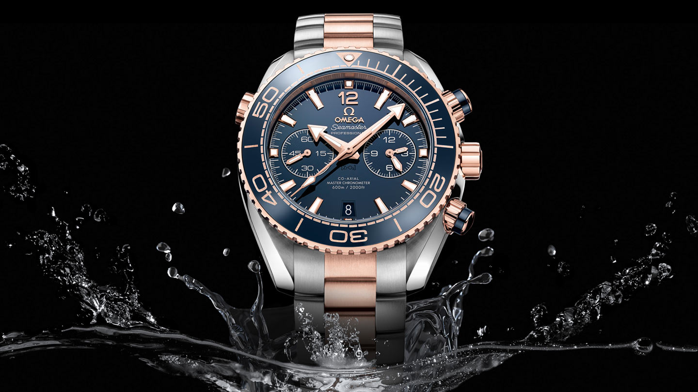 Seamaster プラネットオーシャン Planet Ocean 600M Omega Co‑Axial Master Chronometer Chronograph 45.5 mm - 215.20.46.51.03.001 - ビュー 1