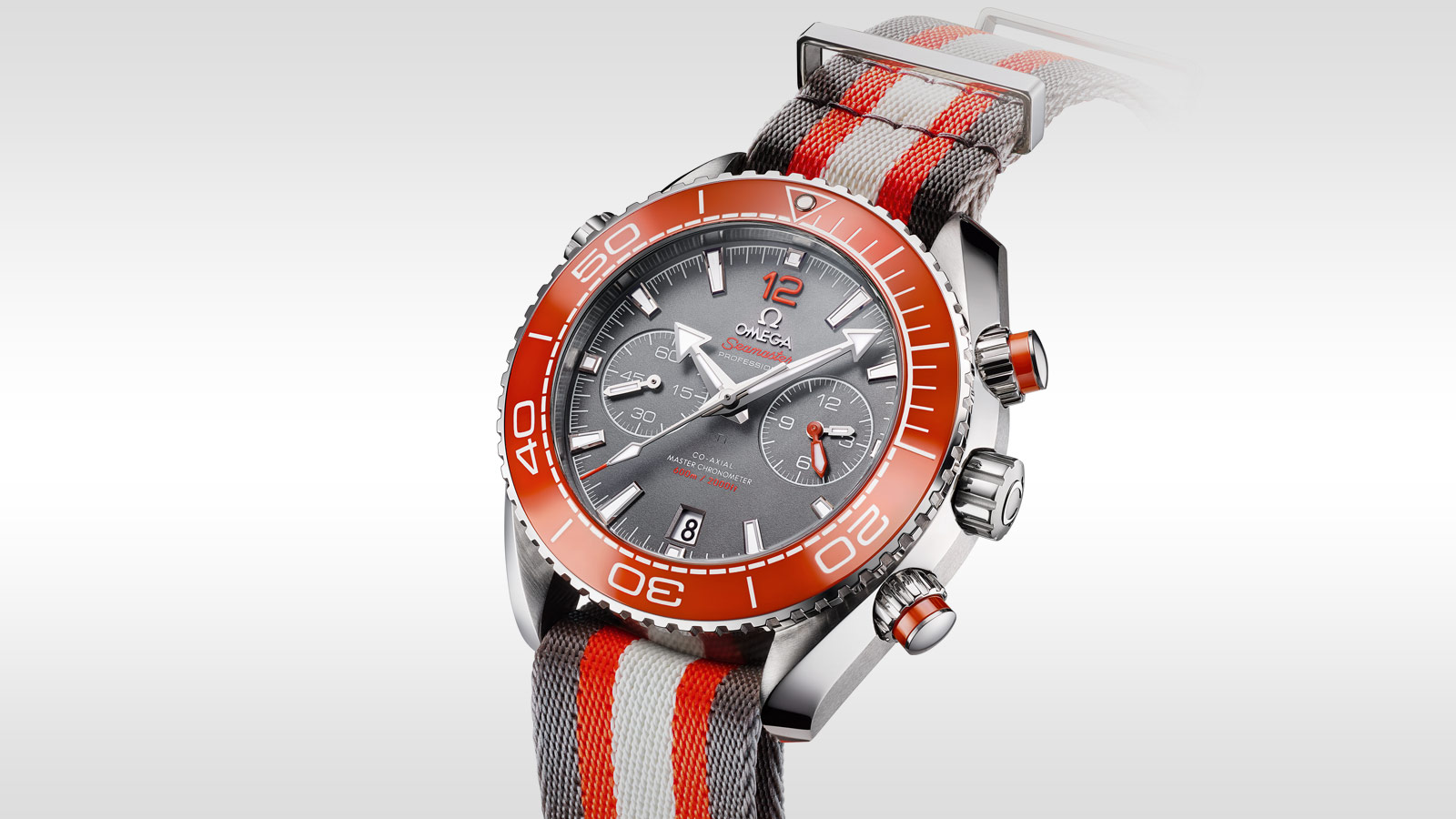 Seamaster プラネットオーシャン Planet Ocean 600M Omega Co‑Axial Master Chronometer Chronograph 45.5 mm - 215.32.46.51.99.001 - ビュー 1