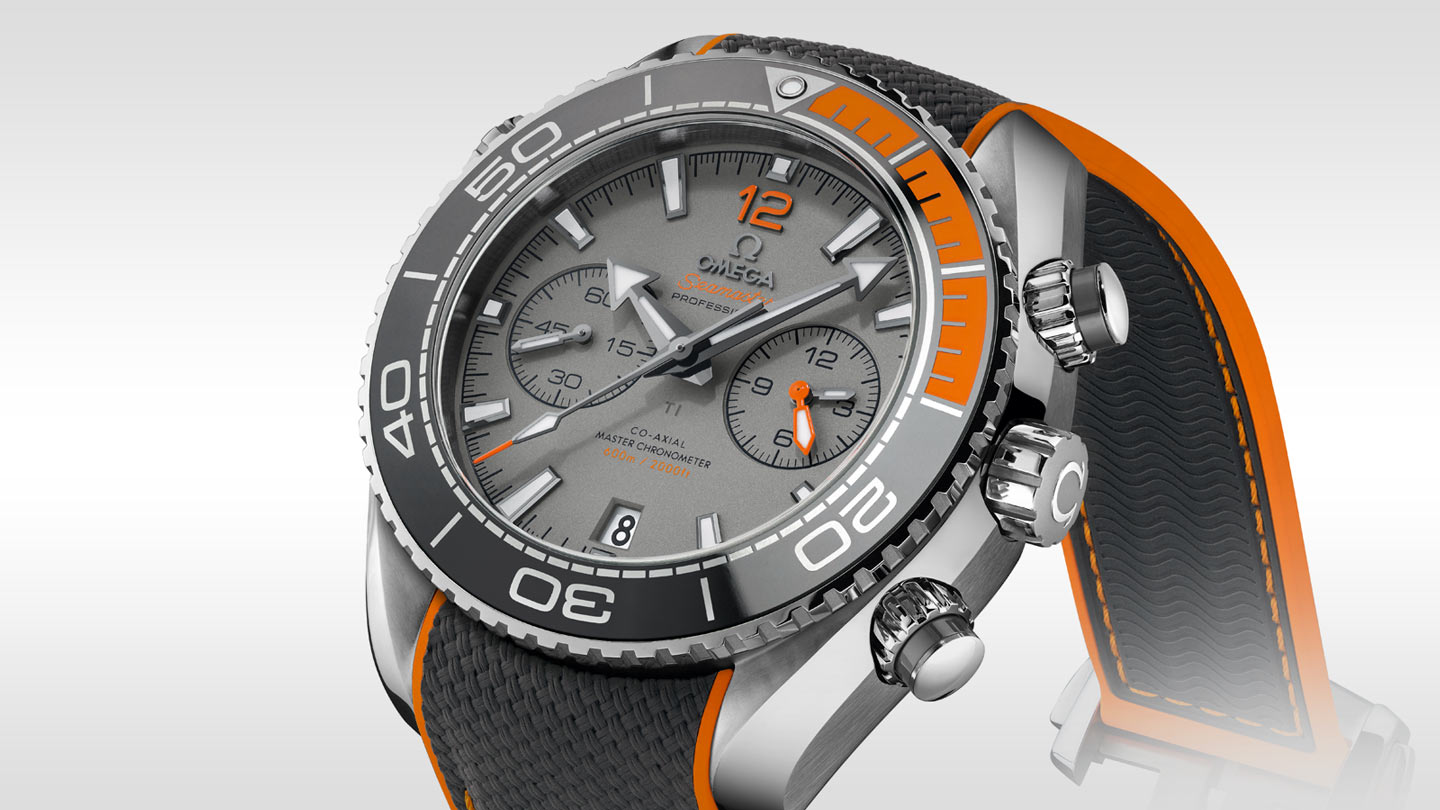 Seamaster プラネットオーシャン Planet Ocean 600M Omega Co‑Axial Master Chronometer Chronograph 45.5 mm - 215.92.46.51.99.001 - ビュー 1