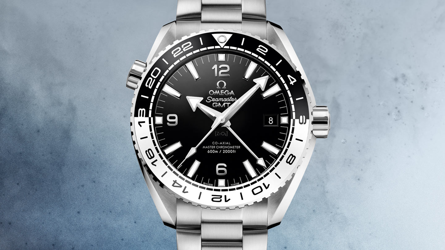 Seamaster プラネットオーシャン Planet Ocean 600M Omega Co‑Axial Master Chronometer GMT 43.5 mm - 215.30.44.22.01.001 - ビュー 1