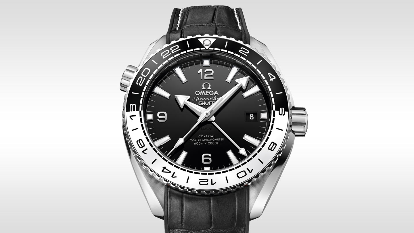 Seamaster プラネットオーシャン Planet Ocean 600M Omega Co‑Axial Master Chronometer GMT 43.5 mm - 215.33.44.22.01.001 - ビュー 1