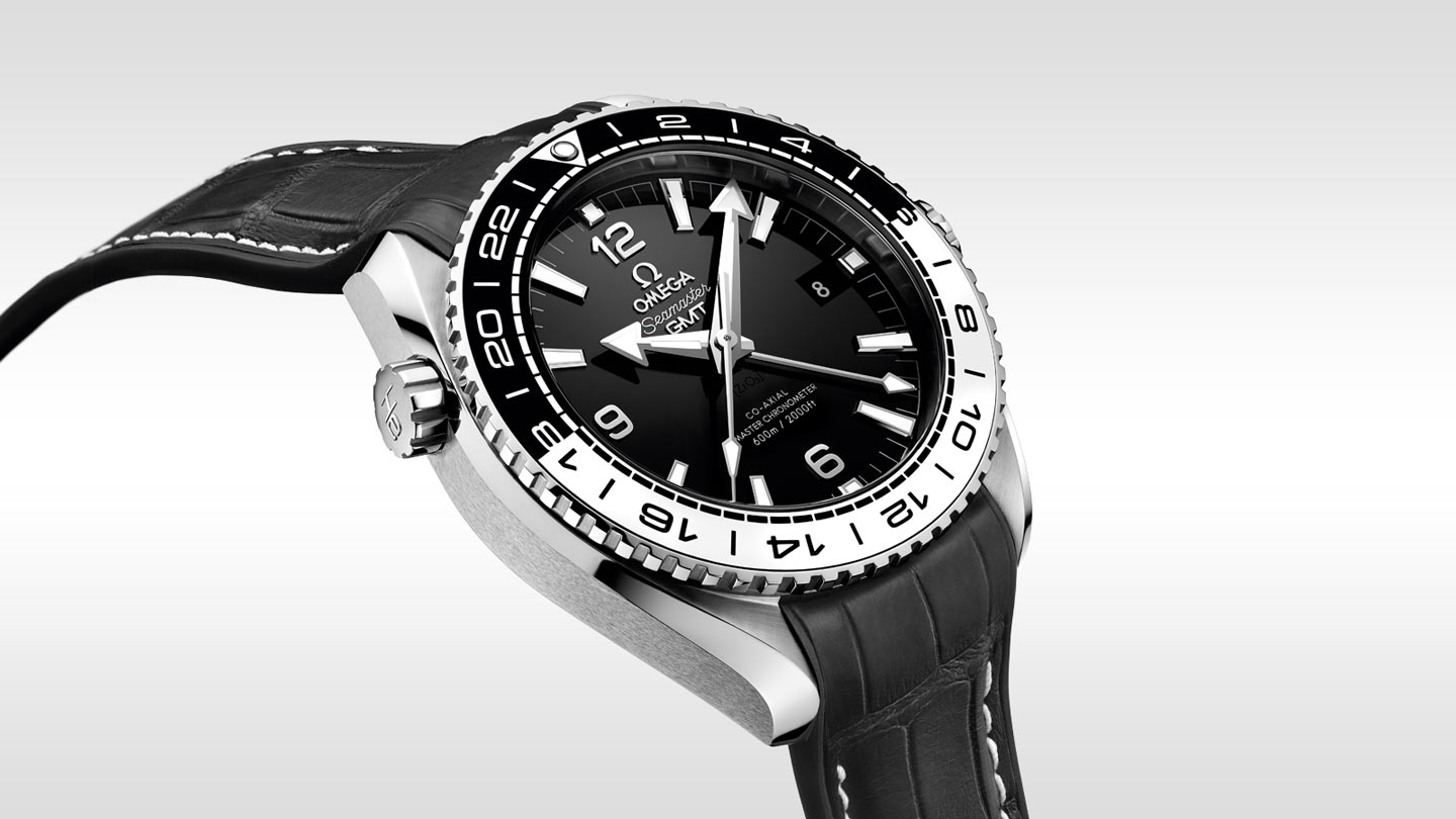 Seamaster プラネットオーシャン Planet Ocean 600M Omega Co‑Axial Master Chronometer GMT 43.5 mm - 215.33.44.22.01.001 - ビュー 2