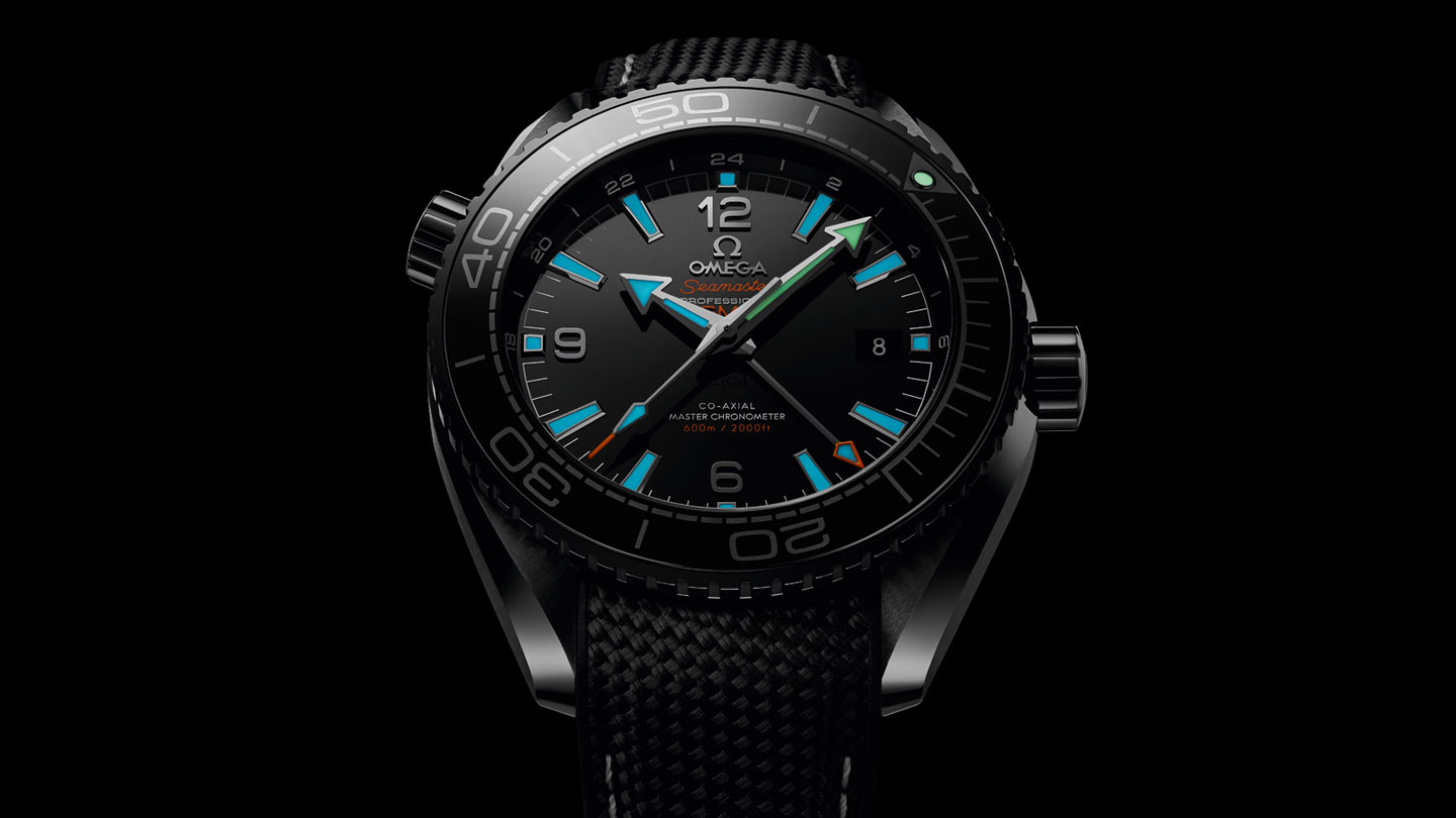 Seamaster プラネットオーシャン Planet Ocean 600M Omega Co‑Axial Master Chronometer GMT 45.5 mm - 215.92.46.22.01.001 - ビュー 1