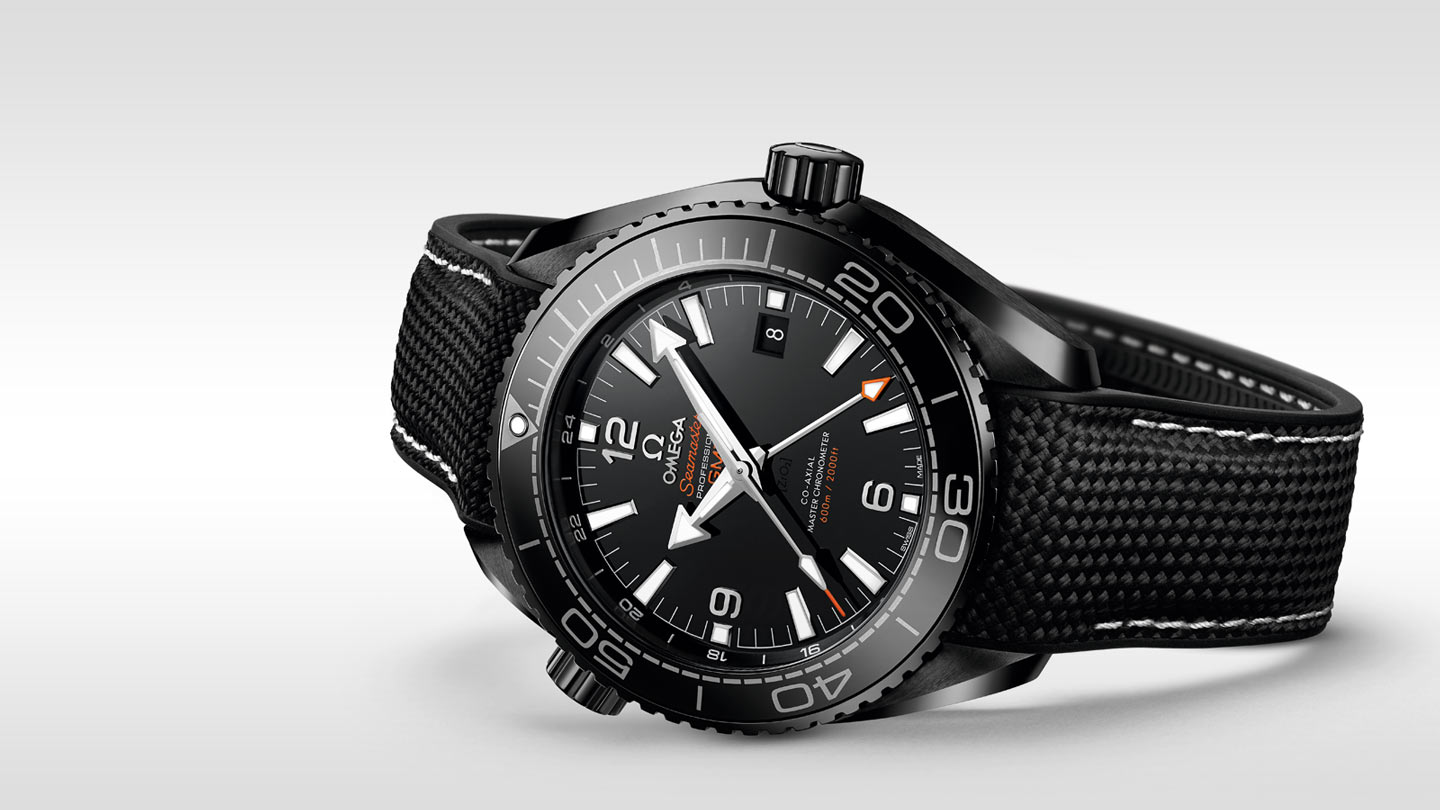 Seamaster プラネットオーシャン Planet Ocean 600M Omega Co‑Axial Master Chronometer GMT 45.5 mm - 215.92.46.22.01.001 - ビュー 3