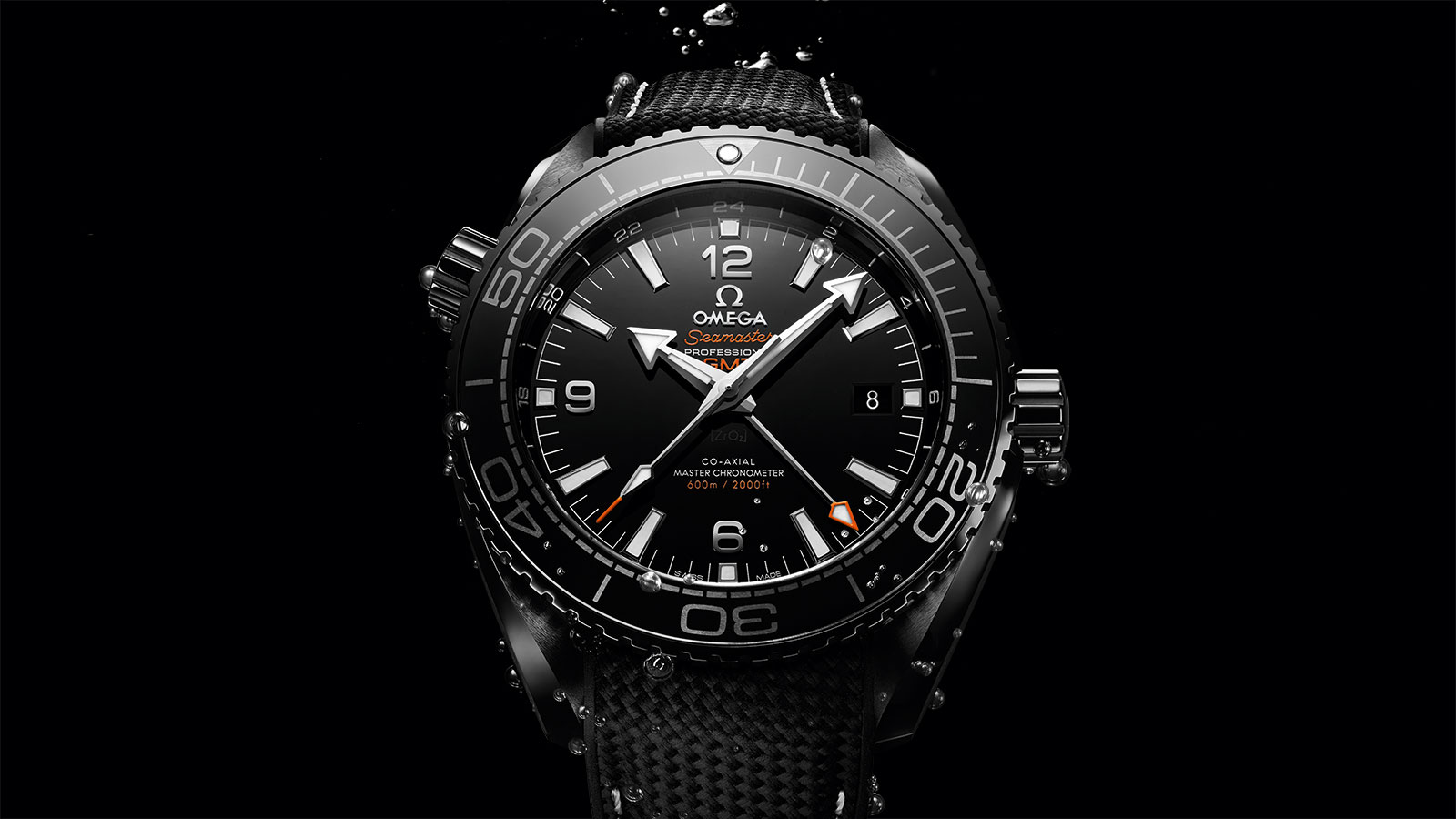 Seamaster プラネットオーシャン Planet Ocean 600M Omega Co‑Axial Master Chronometer GMT 45.5 mm ウォッチ - 215.92.46.22.01.001